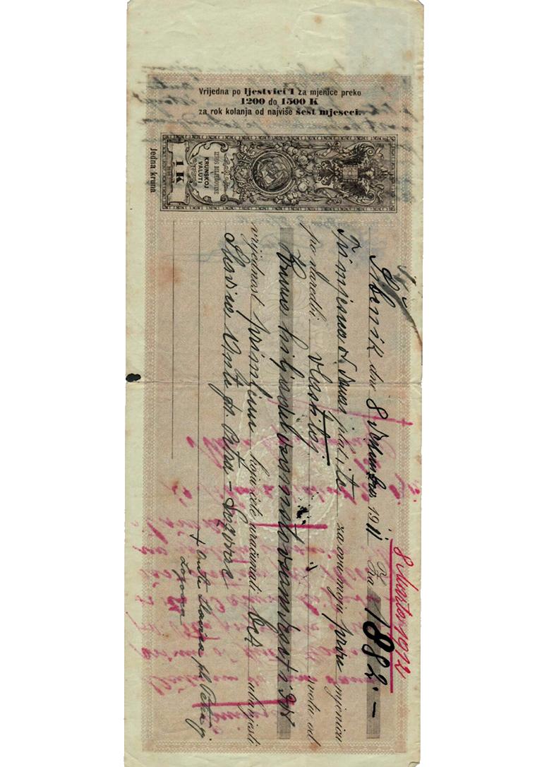 Mjenica- 1912